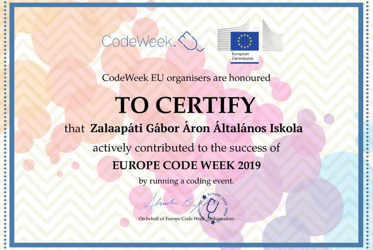 CodeWeek 2019 Flashmob